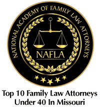 2015 National Academy of Family Law Attorneys Award for Top 10 (Under 40) Family Law Attorneys